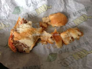 "Subway Sandwich ""Foot Long"" Stale Bread Campaign"