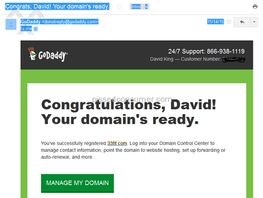 Godaddy stole 33fit.com