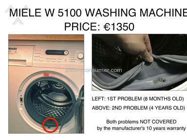 ABSOLUTELY UNSATISFIED CUSTOMER: MIELE? NEVER AGAIN.