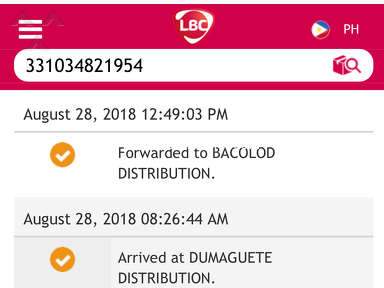 LBC Express - Failed Delivery on time
