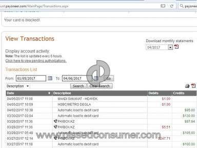 Payoneer Account review 200958