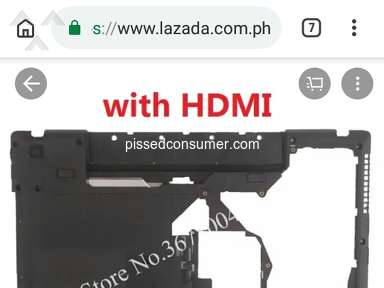 Lazada Philippines - Cancellation