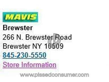 Mavis Discount Tire - Mavis in Pawling and Brewster, NY