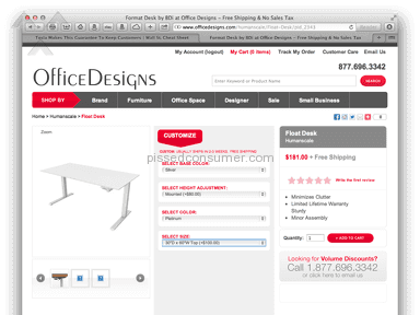 OfficeDesigns Furniture and Decor review 14693