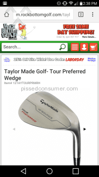 Taylormade Wedge Golf Club