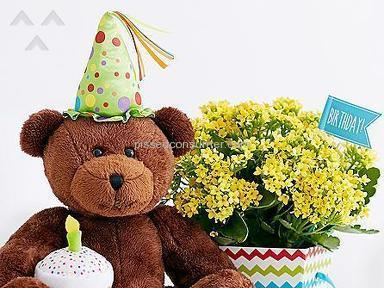 ProFlowers Happy Birthday Bear Arrangement review 132941