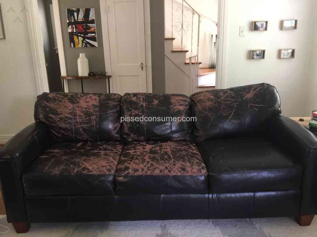 Jennifer Convertibles Ling Leather Sofa Dec 28 2017 Ed Rh Edconsumer Com