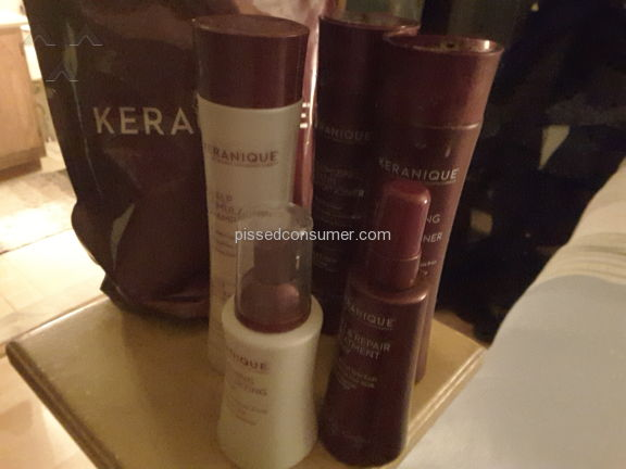 Keranique Hair Regrowth Beauty Set