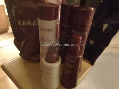 Keranique Hair System no new growth. (Guarantee)