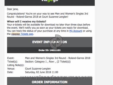 Viagogo Tickets review 293009