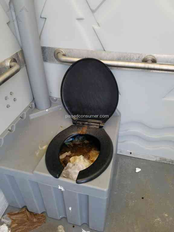 United Portable Toilet : United site services reviews and complaints pissed