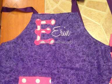 Etsy - Apron Review