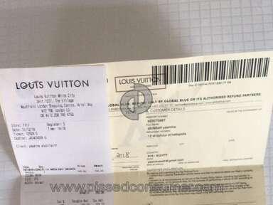 Louis Vuitton - LV trainer defect
