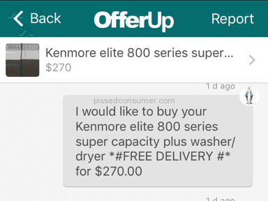 Offerup Kenmore Washing Machine review 153442