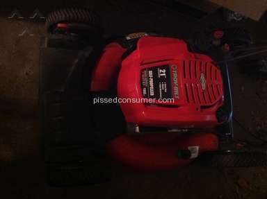 Troy Bilt Lawn Mower review 24905