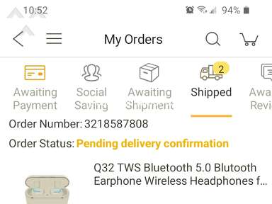 DHgate Shipping Service review 690655