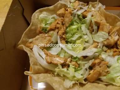 Taco Bell Fiesta Taco Salad review 288066