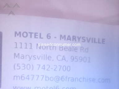 Motel 6 Room review 309852