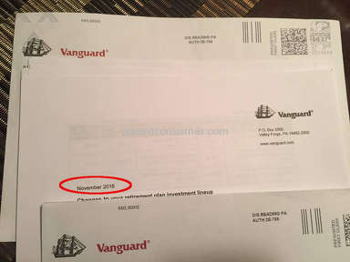 Vanguard Group Customer Care review 174046