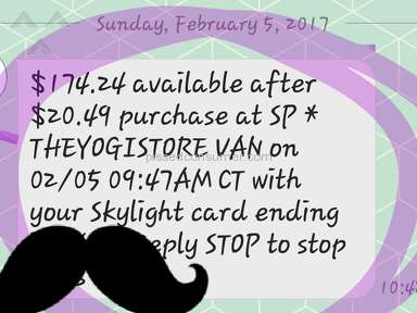 The Yogi Store Shipping Service review 216938