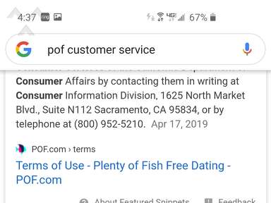 POF Account review 545329