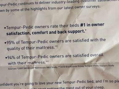 TempurPedic Mattress review 193230