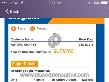 Allegiant Air Flight 665 review 148762