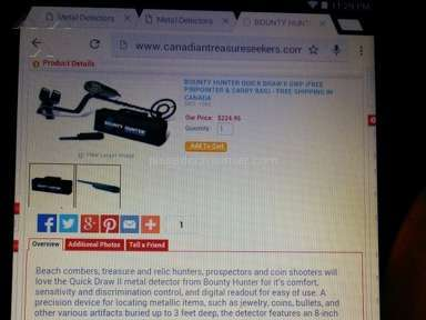 Canadian Treasure Seekers Auctions and Internet Stores review 59613