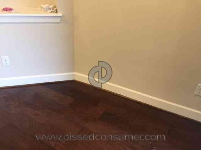 Nebraska Furniture Mart   Water Damaged My New House