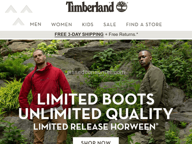 Timberland Shopping Advertisement review 235156