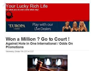 Hole In One International Insurance review 287346
