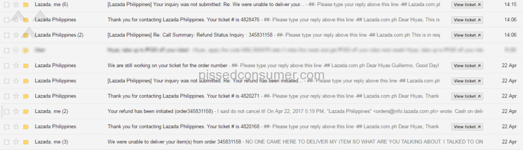 22 Lazada Express Delivery Service Reviews and Complaints
