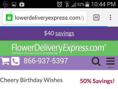 Flower Delivery Express Arrangement review 121843