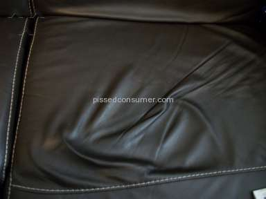 NATUZZI FURNITURE COLLAPSING AFTER LESS THAN 7 MONTHS
