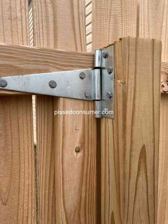 74 Lowes Fence Installation Reviews And Complaints