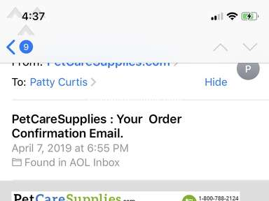 PetCareSupplies Shipping Service review 384150