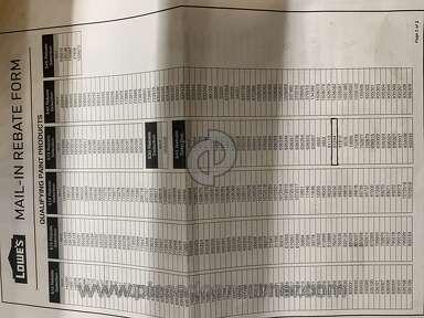 Lowes Rebate review 490185