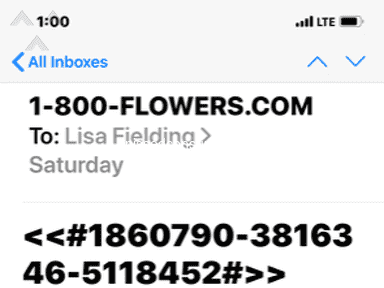1800Flowers Delivery Service review 505873