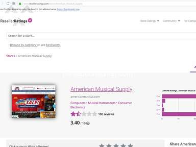 American Musical Supply Music stores review 325490