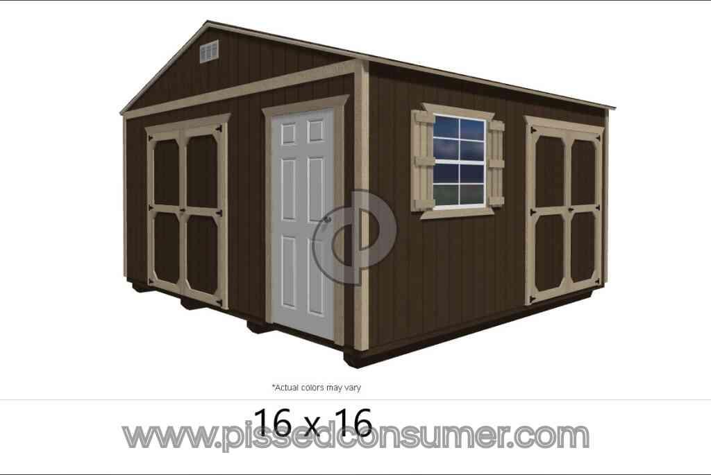 Derksen Portable Buildings Shed Reviews and Complaints
