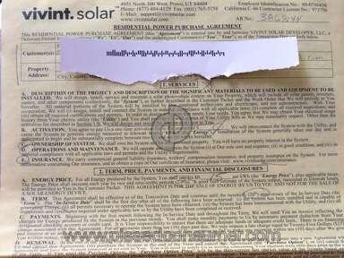 Vivint Solar Customer Care review 151448