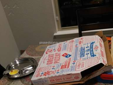Dominos Pizza - Piece of meat in vegetarian Domino's pasta!!!