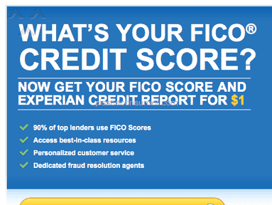 Experian - Bad Website - Shady Marketing Tactics
