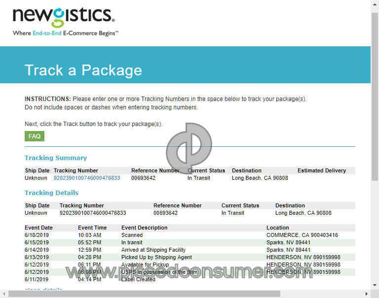148 Newgistics Reviews and Complaints @ Pissed Consumer