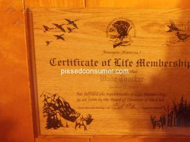 North American Hunting Club - Life member