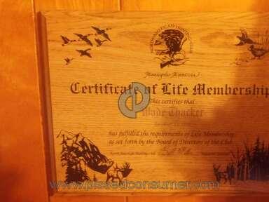 North American Hunting Club - Life member