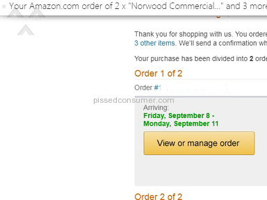 Amazon Shipping Service review 229208