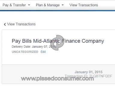 Mid Atlantic Finance  Loan review 58187