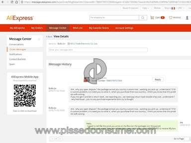 Aliexpress Profile review 174420
