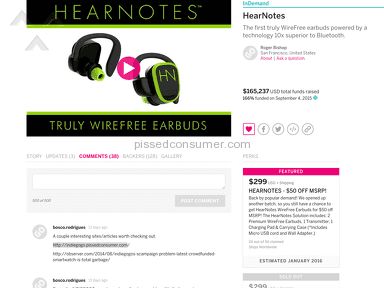 Indiegogo Shipping Service review 142818